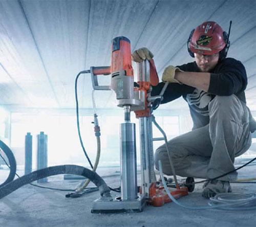Алмазное сверление бетона и его особенности