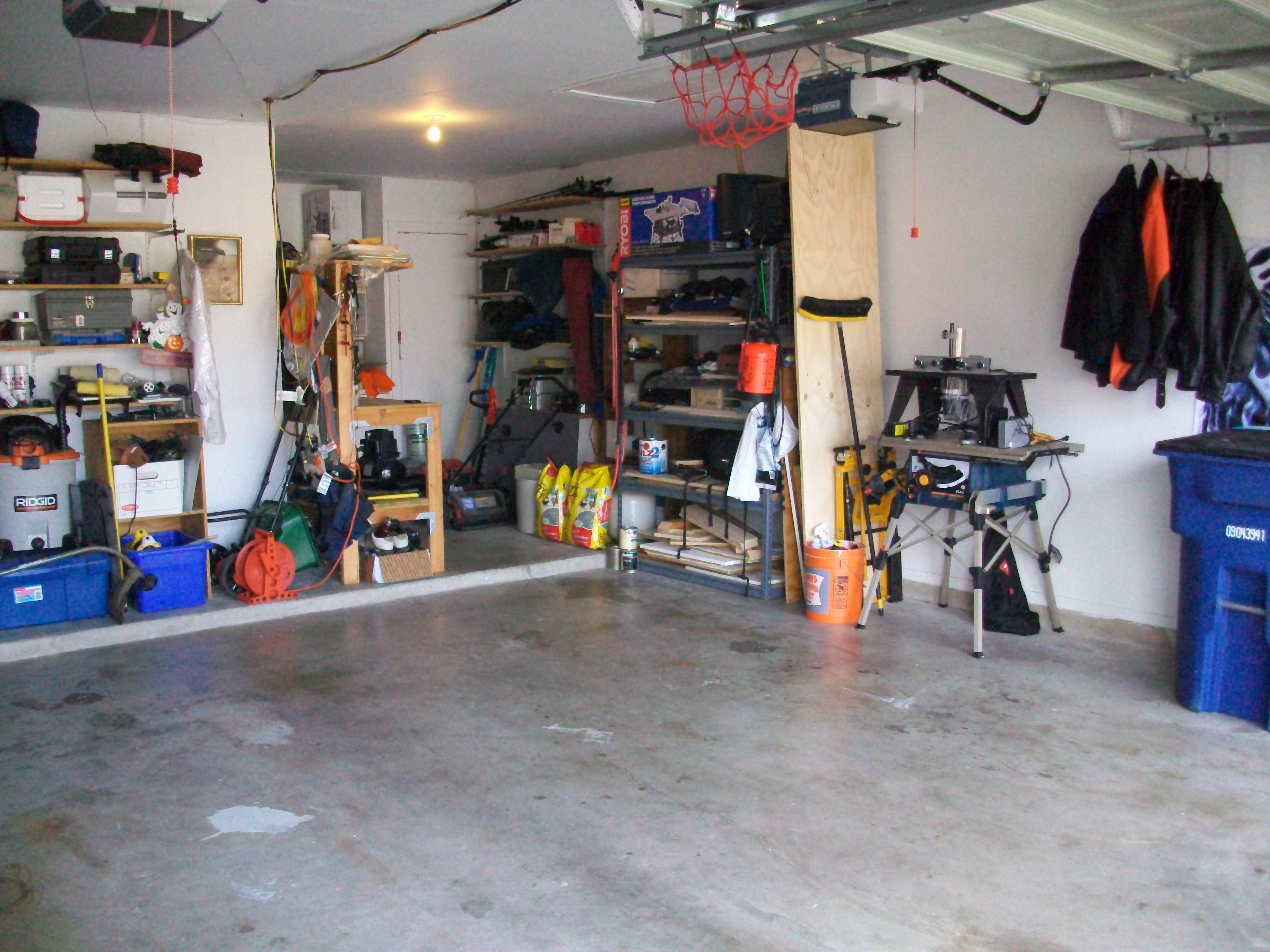 Обставить гараж своими руками фото