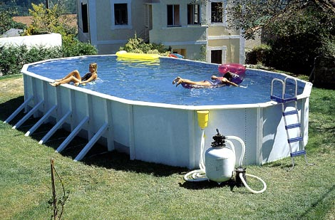 Чем удобен сборный бассейн?