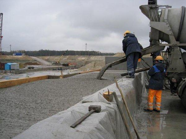 Эмпирические таблицы для расчета толщины бетонных плит