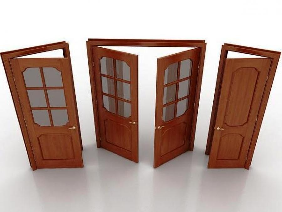 Функции межкомнатных дверей