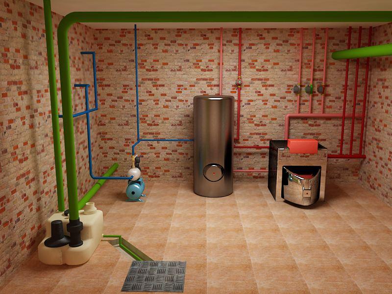 Источник электричества у вас в подвале
