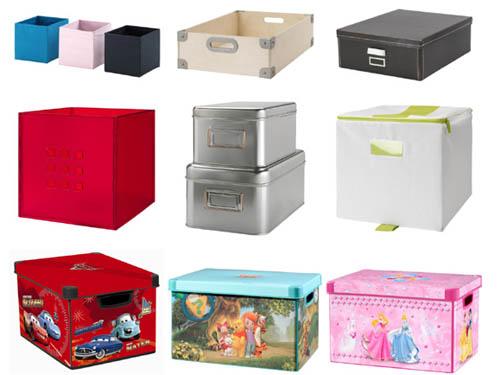 Коробки для хранения вещей: основные разновидности
