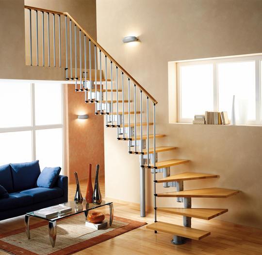 Межэтажные металлические лестницы