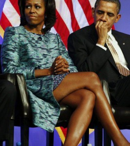 Мишель и Барак Обама. Вмести или уже нет