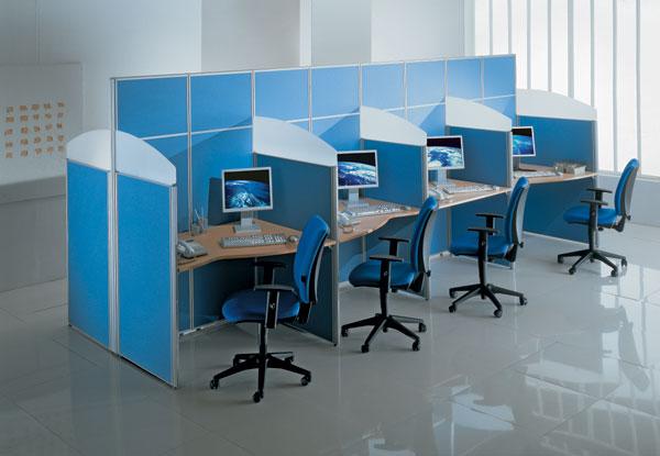 Мобильные и стационарные офисные перегородки