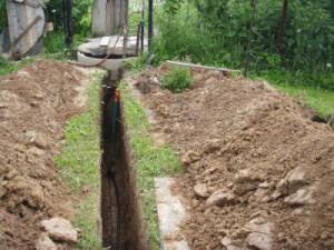 Монтаж водопровода в загородном доме