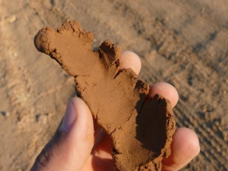 Определение влажности испытываемого грунта