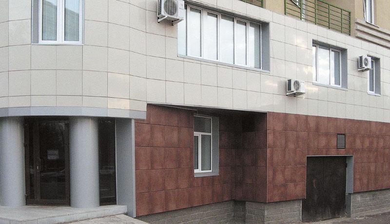 Плитка для отделки фасадов зданий