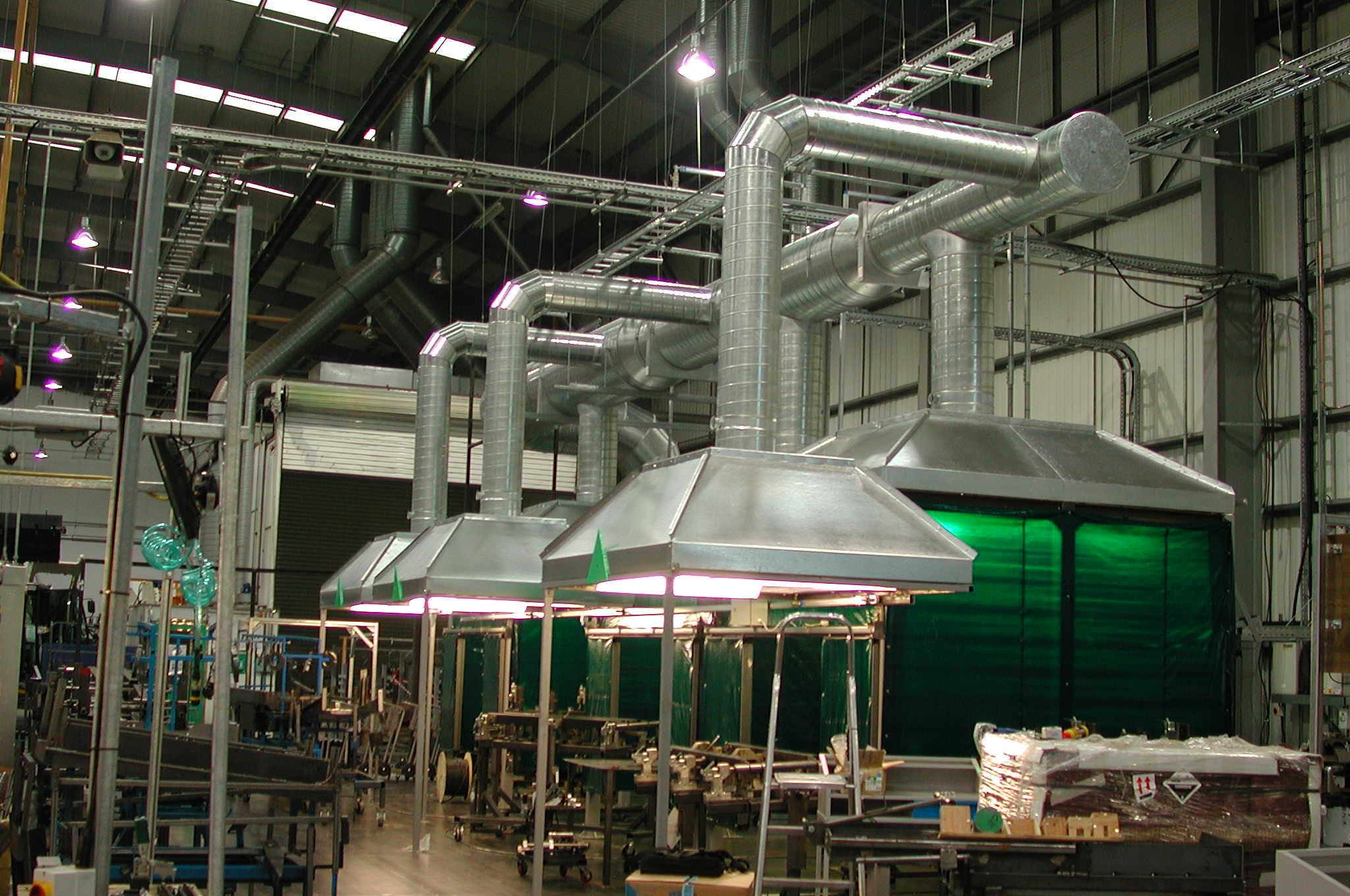 Промышленные вентиляторы: виды и особенности