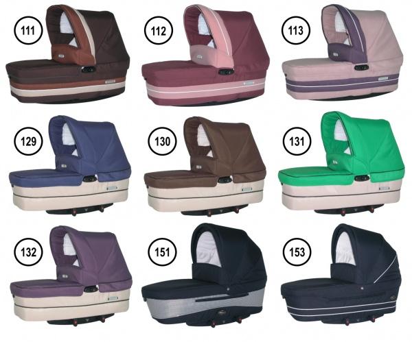 Традиционные коляски-люльки для новорожденных.