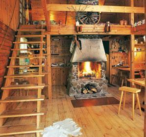 Возможность установки камина в деревянном доме