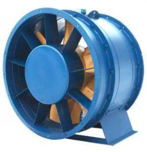 вентиляторы осевые для систем подпора воздуха