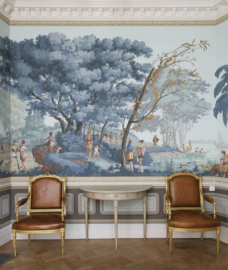 Ручная роспись De Gournay для обоев и штор