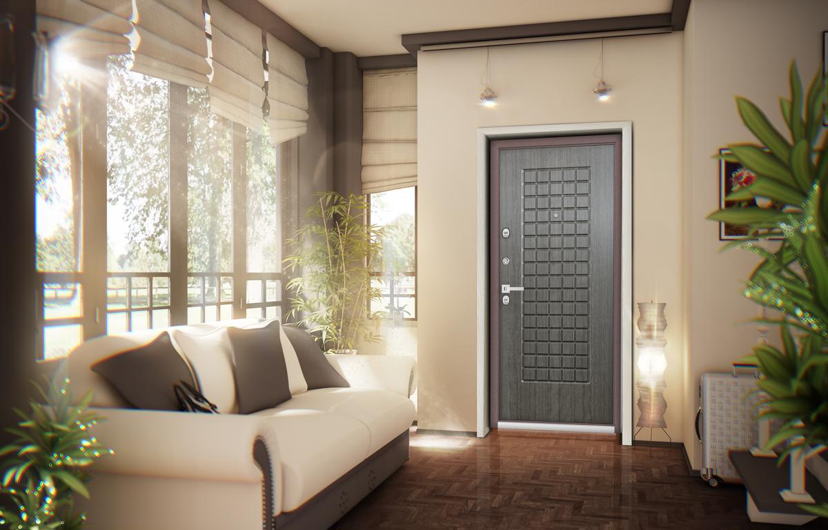 Качественная металлическая дверь